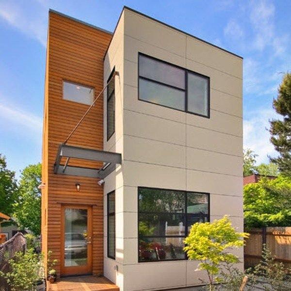 De 180 fotos de fachadas de casas modernas casas for Modelos de techos para casas de dos pisos