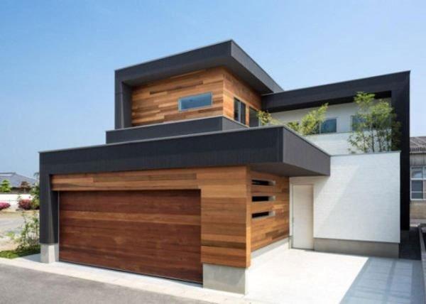 fachadas-de-las-casas-más-bonitas-y-modernas-casa-de-madera-bordes-grises