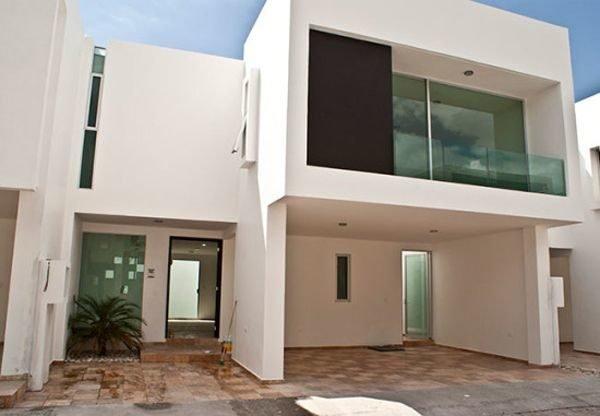 De 180 fotos de fachadas de casas modernas casas for Casas pequenas bonitas y modernas
