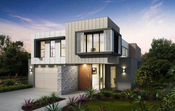 De 180 fotos de fachadas de casas modernas casas for Las mejores fachadas de las villas