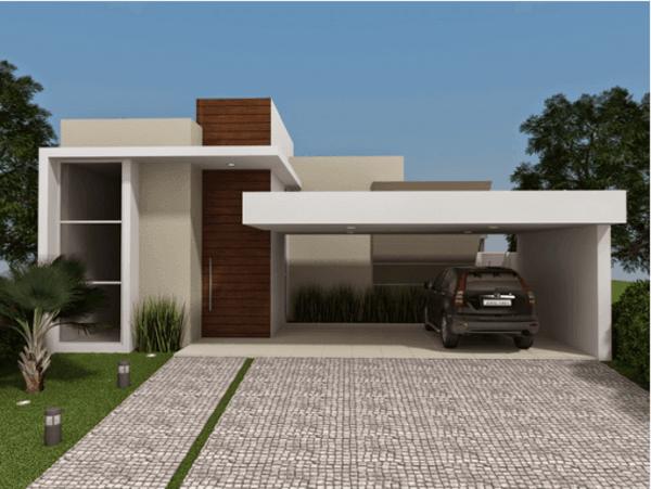 fachadas-de-las-casas-más-bonitas-y-modernas-casa-pequena-con-garage