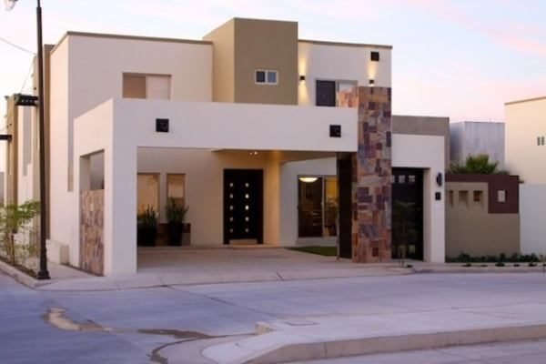 De 180 fotos de fachadas de casas modernas casas - Piedra para exteriores casas ...
