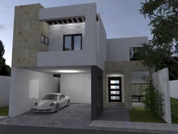 De 180 fotos de fachadas de casas modernas casas for Fachadas de casas modernas con zaguan