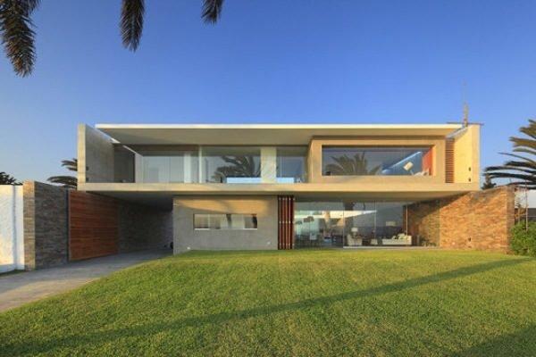 fachadas-de-las-casas-más-bonitas-y-modernas-casa-rectangular
