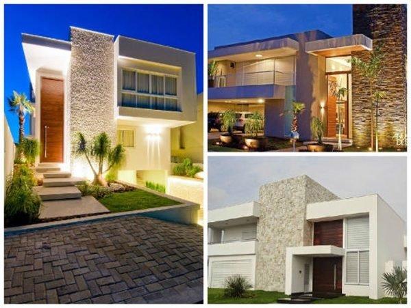 De 180 fotos de fachadas de casas modernas casas for Casas modernas terreras