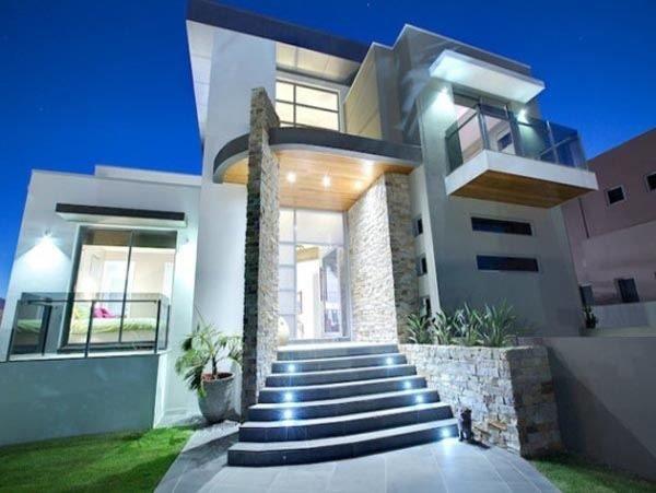 fachadas-de-las-casas-más-bonitas-y-modernas-escaleras-iluminadas