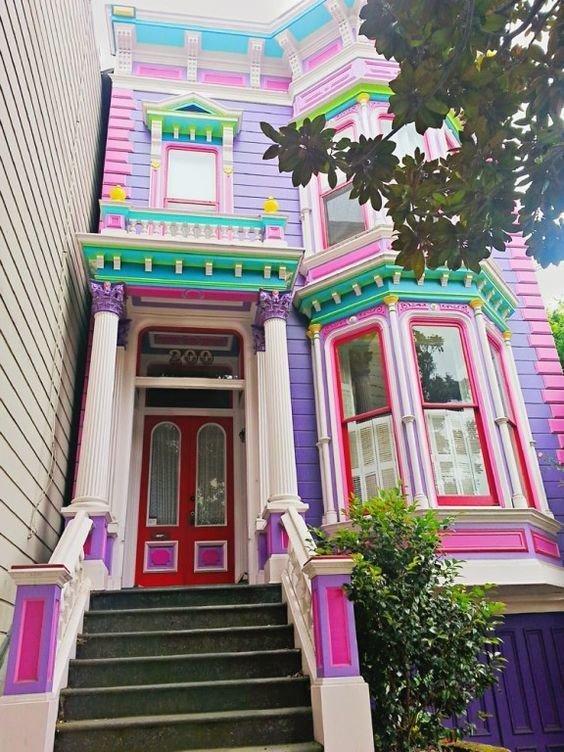 fotos-e-ideas-colores-fachadas-casas-exteriores-fachada-lila-y-rosa