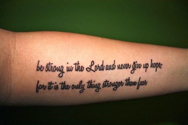 frases para tatuar be strong