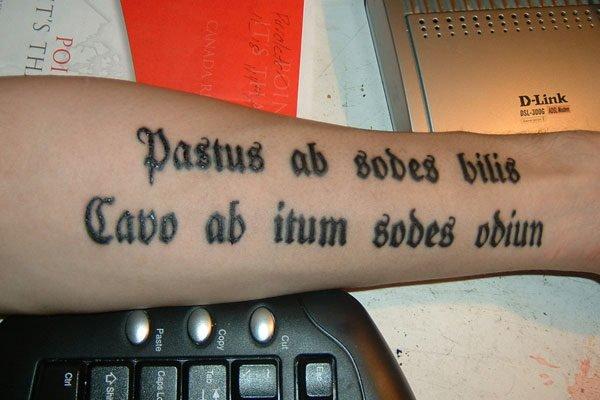 De 120 frases para tatuajes que seguro vas a querer hacerte for Fraces en latin