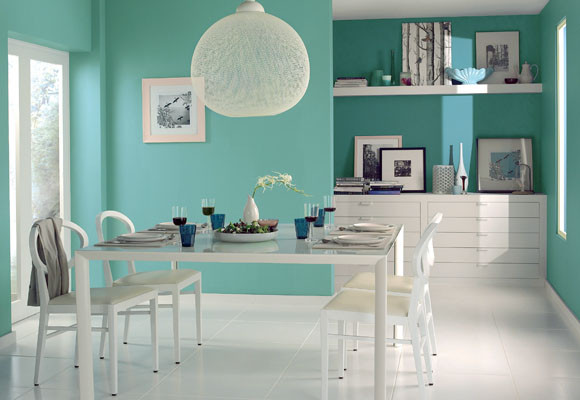 Ideas de colores para el comedor - Tendenzias.com