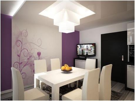 Ideas de colores para el comedor - Pintar un salon comedor ...