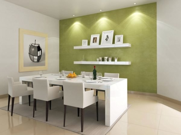 Ideas de colores para el comedor for Modern dining room color ideas