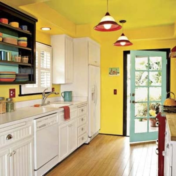 Yellow Paint For Kitchen Walls: 100 Ideas De Cómo Combinar Los Colores Para La Cocina