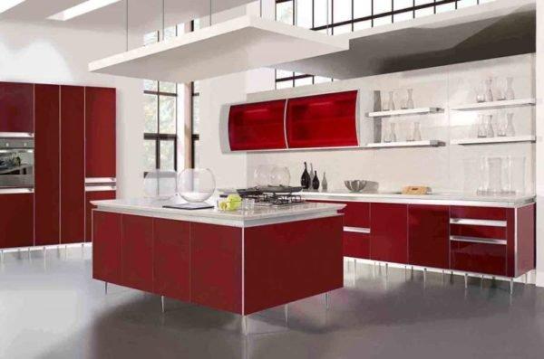 ideas-combinar-los-colores-la-cocina-cocina-blanca-roja