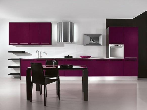 ideas-combinar-los-colores-la-cocina-cocina-purpura-y-blanca