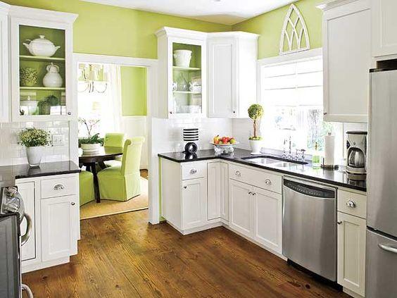ideas-combinar-los-colores-la-cocina-cocina-verde-blanca