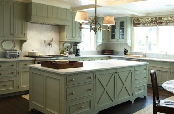 green kitchen cabinets throughout kitchens with green cabinets
