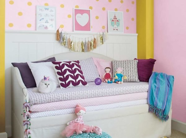 Los colores de cuartos para niños y niñas de moda en 2016