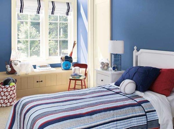 Los colores de cuartos para ni os y ni as de moda en 2016 for Cuarto azul con gris