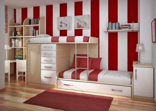 los-colores-cuartos-ninos-ninas-moda-2016-COLORES-UNISEX-color-rojo