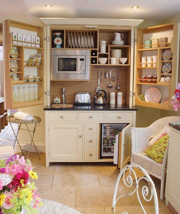 mas-50-fotos-cocinas-pequenas-modernas-2016-cocina-completa-en-un-solo-mueble