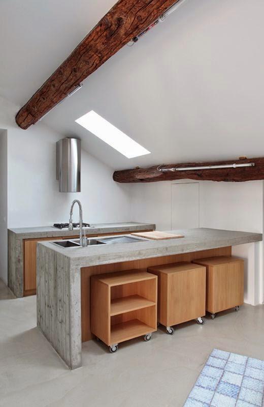 mas-50-fotos-cocinas-pequenas-modernas-2016-cocina-con-diseño-minimalista
