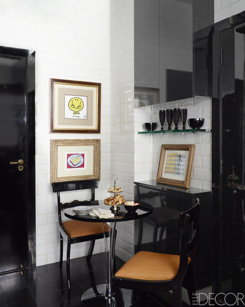 mas-50-fotos-cocinas-pequenas-modernas-2016-cocina-con-mesa-de-cocina-pequelña-negro