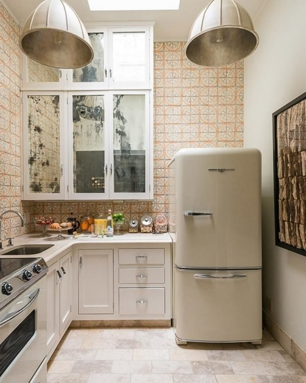 mas-50-fotos-cocinas-pequenas-modernas-2016-cocina-losas-estampadas