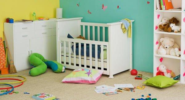 Colores para cuartos de beb s reci n nacidos 2018 for Combinacion de colores para habitacion
