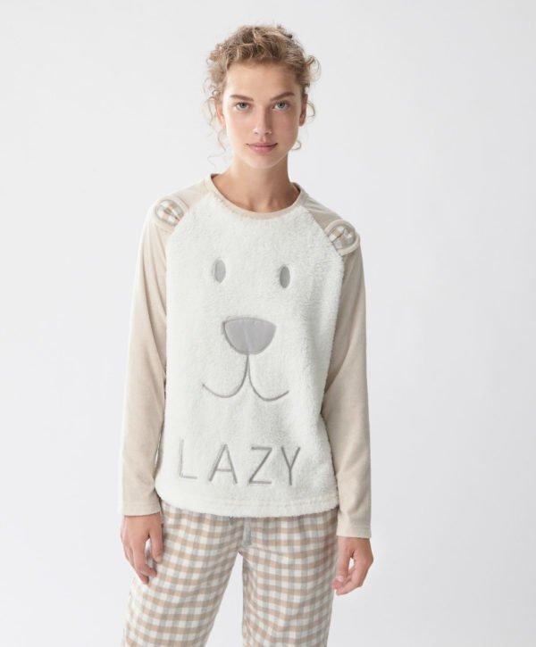Resultado de imagen de pijamas calentitos mujer