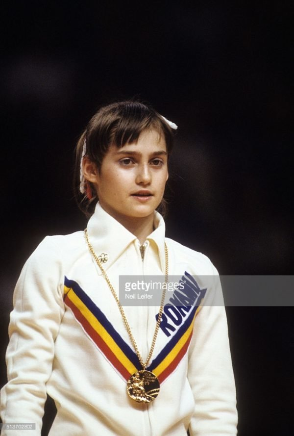 Nadia Comaneci. Primer 10 en la historia de las Olimpiadas