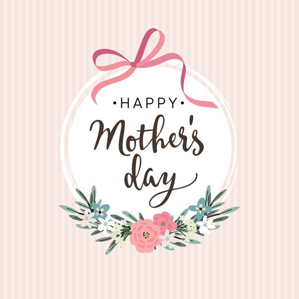 Tarjetas digitalles para el dia de la madre femenina