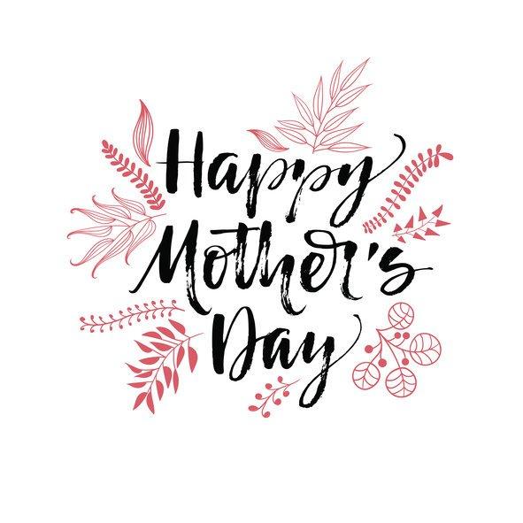 Tarjetas digitalles para el dia de la madre sencillas
