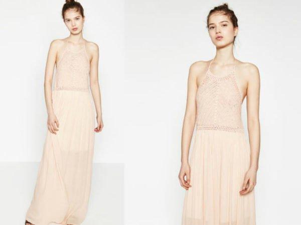 vestidos-fiesta-largo-zara-rosa