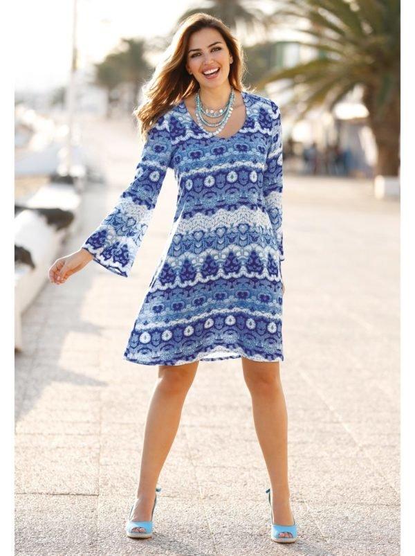 vestidos-para-gorditas-otono-invierno-2017-azul