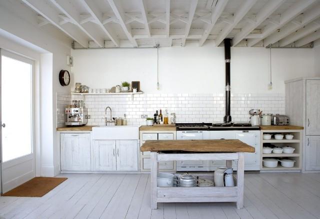 60 ideas de decoracin de cocinas rsticas y cocinas de obra Fotos