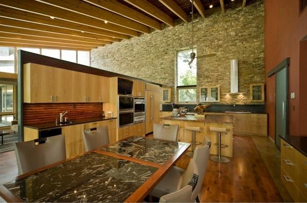 60 ideas de decoración de cocinas rústicas y cocinas de obra ...