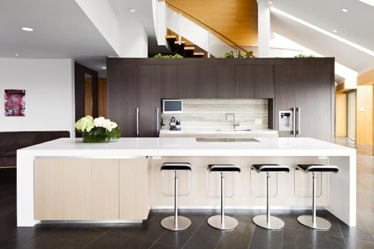 de 100 Fotos Cocinas con Isla 2016 - Ideas para decorar cocinas
