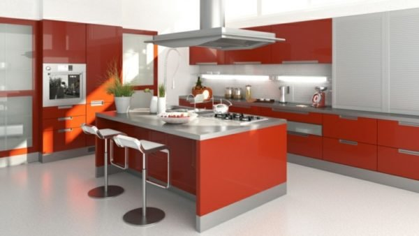 De 100 fotos cocinas con isla 2016 ideas para decorar for Cocina integral con isla central