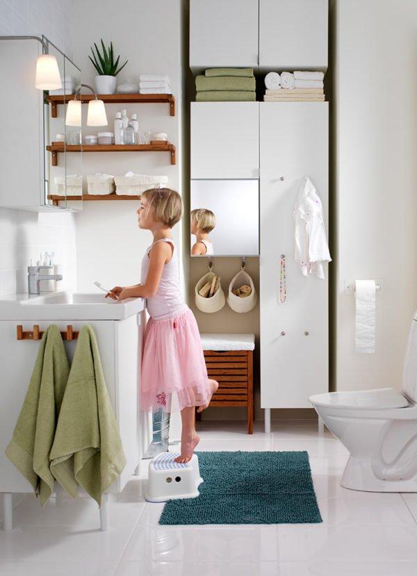 Colores para cuartos de ba o peque os 2018 - Decoracion cuartos de bano pequenos ...