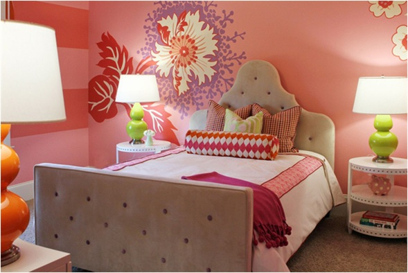 Colores para cuartos juveniles habitaciones 2018 for Habitaciones con muebles blancos