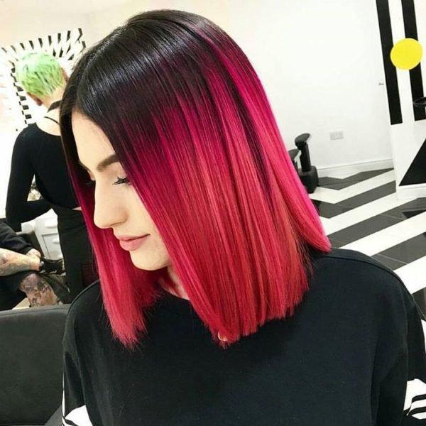 cortes de pelo bob u degradacin de color