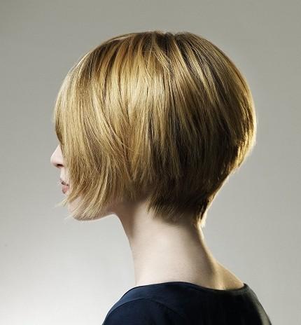 Cortes de cabello corto atras largo delante