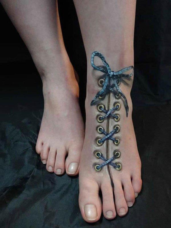 los-mejores-tatuajes-bonitos-tatuaje-3d-bota