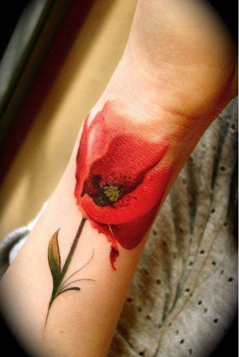 los-mejores-tatuajes-bonitos-tatuaje-amapola