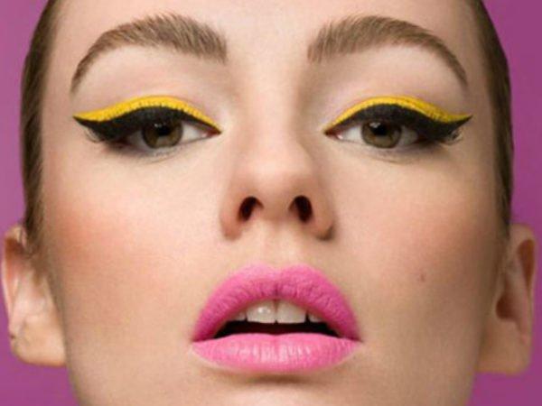 maquillaje-ojos-negros-maquillaje-de-día-natural-amarillo