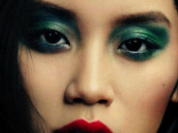 como maquillar ojos negros