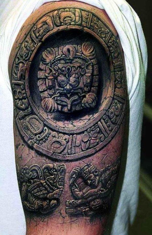 tatuajes-brazo-dibujo-maya