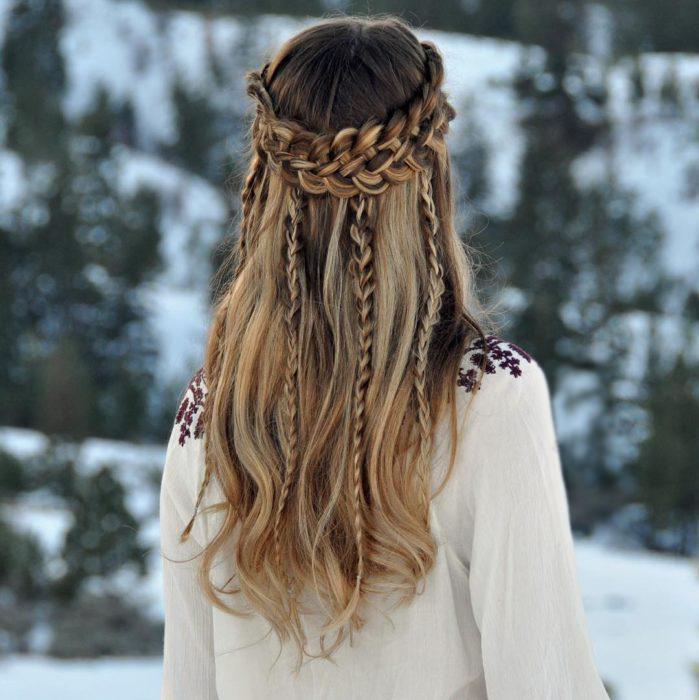 De 50 Peinados Con Trenzas De Oto 241 O Invierno 2017 2018