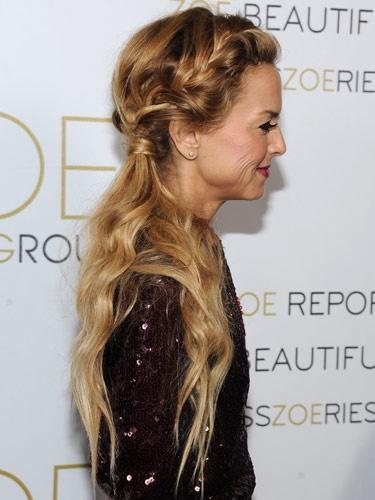 peinados-con-trenzas-mini-trenza-diadema-con-coleta-y-pelo-suelto